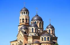 Kirche von Johannes von Kronstadt in Ryazan lizenzfreie stockfotos