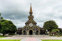 Kirche von Kon Tum stockfoto