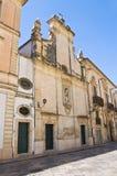 Kirche von Madonna Addolorata. Galatina. Puglia. Italien. Lizenzfreie Stockfotografie