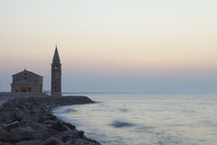 Kirche von Madonna-dell'Angelo Stockfotos