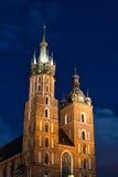Kirche von Mariacki Stockfoto