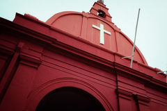 Kirche von Melacca lizenzfreie stockfotos