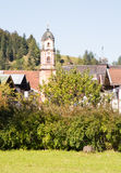 Kirche von Mittenwald Lizenzfreies Stockfoto