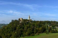 Kirche von Montebonello (Pavullo, Italien) Lizenzfreie Stockfotografie
