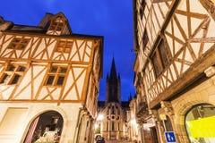Kirche von Notre-Dame von Dijon lizenzfreie stockbilder