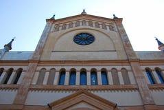Kirche von ` Olmo Beata Vergine-engen Tals stockfotos