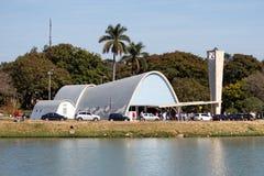 Kirche von Pampulha lizenzfreies stockbild