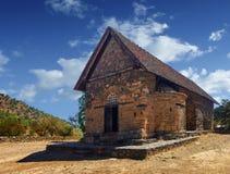 Kirche von Panagia-tis Asinou Nikitari stockfotografie