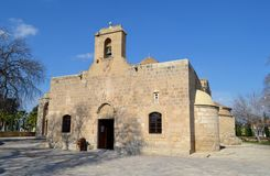 Kirche von Panayia Angeloktisti Stockbild