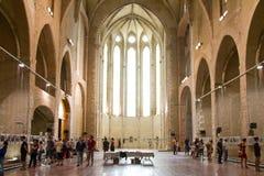 Kirche von Perpignan stockbild