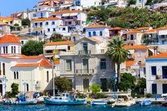 Kirche von Poros-Insel - Griechenland Lizenzfreie Stockfotos