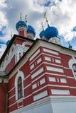 Kirche von Prinzen Demitry der Märtyrer des 17. Jahrhunderts, Uglich, Russland Lizenzfreie Stockbilder