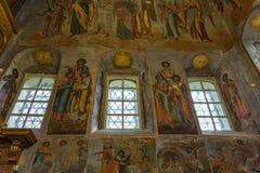 Kirche von Prinzen Demitry der Märtyrer des 17. Jahrhunderts, Uglich, Russland Stockfotos