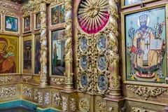 Kirche von Prinzen Demitry der Märtyrer des 17. Jahrhunderts, Uglich, Russland Stockfotografie