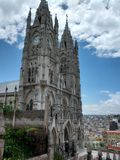 Kirche von Quito Stockbild