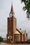 Kirche von Raahe, Finnland Stockfotografie