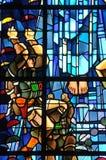 Kirche von Sainte bloßes Eglise in Normandie Lizenzfreie Stockfotografie