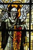 Kirche von Sainte bloßes Eglise in Normandie Stockbild