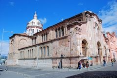 Kirche von San Blas - Cuenca – Ecuador Lizenzfreies Stockfoto