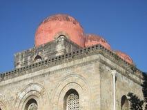Kirche von San Cataldo (Palermo) Stockbilder