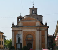 Kirche von San Donnino, Montecchio Emilia lizenzfreie stockfotos