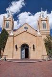 Kirche von San Felipe in Albuquerque, New-Mexiko. Lizenzfreie Stockfotos
