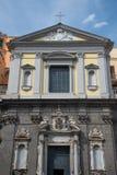 Kirche von San Ferdinando - Neapel - Italien Stockbild