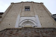 Kirche von San Francesco Camerano Stockfoto