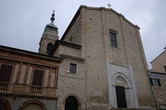 Kirche von San Francesco Camerano Lizenzfreies Stockfoto