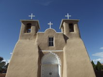 Kirche von San Francisco de Asis, Ranchos de Taos Lizenzfreies Stockbild