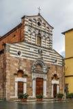 Kirche von San Giusto, Lucca, Italien stockbild