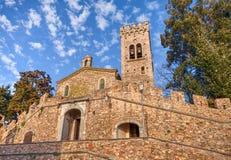 Kirche von San Lorenzo in Castagneto Carducci, Toskana, Italien Lizenzfreies Stockbild