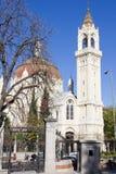 Kirche von San Manuel und von San Benito Stockbild