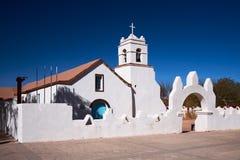 Kirche von San Pedro, San Pedro de Atacama, Chile Lizenzfreies Stockfoto