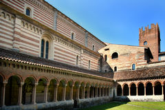 Kirche von San Zeno Lizenzfreie Stockfotos