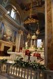 Kirche von San Zenone in Cambiago lizenzfreie stockfotografie