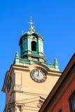 Kirche von Sankt Nikolaus, Stockholm Lizenzfreies Stockfoto