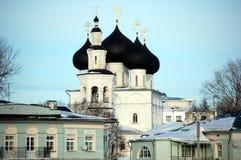 Kirche von Sankt Nikolaus in Vologda Stockfotografie