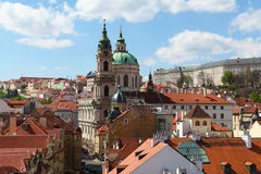Sankt Nikolaus Kirche in weniger Stadt Lizenzfreie Stockfotos