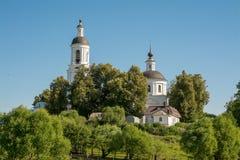 Kirche von Sankt- Nikolauswundertäter Filippovskoe-Dorf Lizenzfreie Stockbilder