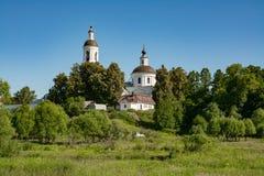 Kirche von Sankt- Nikolauswundertäter Filippovskoe-Dorf Stockfoto