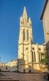 Kirche von Santa Anna in Montpellier Stockfoto