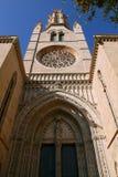 Kirche von Santa Eulalia, Mallorca Stockfotos