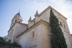 Kirche von Santa Maria in Alhambra lizenzfreie stockfotografie