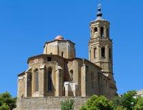 Kirche von Santa Maria Almenar Lizenzfreies Stockfoto