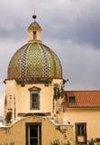 Kirche von Santa Maria Assunta, Positano, Italien Stockbilder