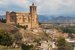 Kirche von Santa Maria in Balaguer lizenzfreies stockfoto