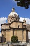 Kirche von Santi Luca e Martina in Rom, Italien Lizenzfreie Stockfotos