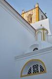 Kirche von Santiago in Tavira Lizenzfreies Stockbild