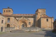 Kirche von Santillana Del Mar Stockbild